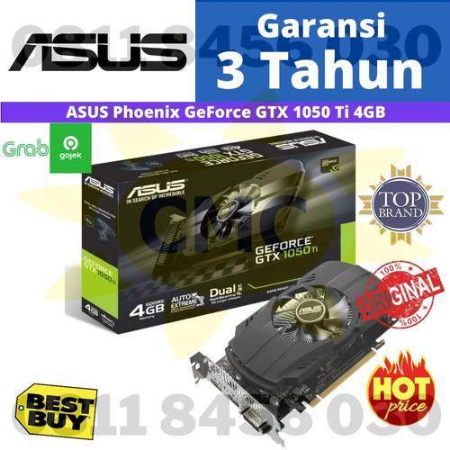 Foto Produk ASUS Phoenix GeForce GTX 1050 Ti GTX1050Ti 4GB GDDR5 dari Cahaya Matahari Computer