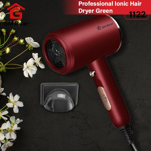Foto Produk GM Bear Alat Pengering Rambut Portable - Professional Ionic Hair Dryer - Merah dari GM Bear