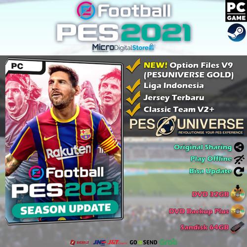 Foto Produk eFootball PES 2021 Season Update PC Original - DVD 32GB dari Micro Digital Store