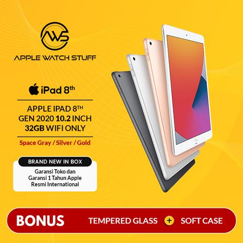 Foto Produk Apple iPad 8 / 8th Gen 2020 10.2 Inch 32GB Wifi only BNIB - Gold dari applewatchstuff