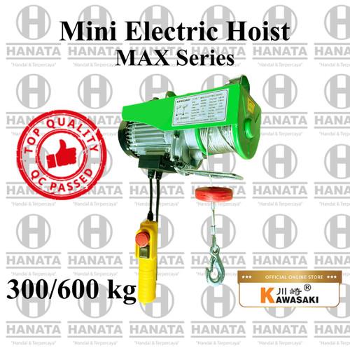 Foto Produk Kawasaki Mini Electric Hoist 1F 300/600 Kg x 30/15 M (GARANSI 1 TAHUN) dari Hanata Lifting Official