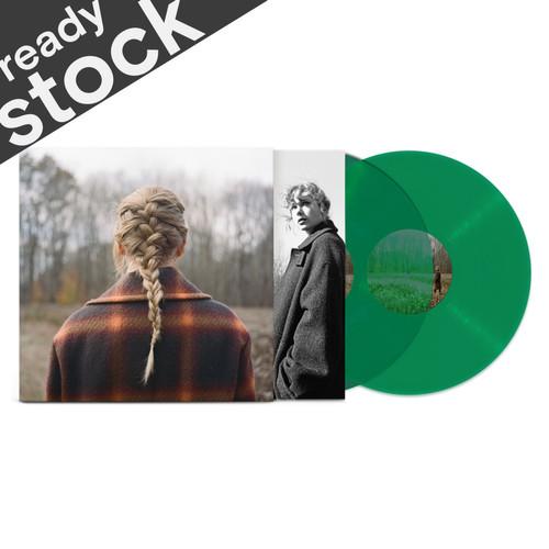 Foto Produk [Vinyl LP] Taylor Swift - evermore [Transparent Green] dari Between Glasses and Irrs