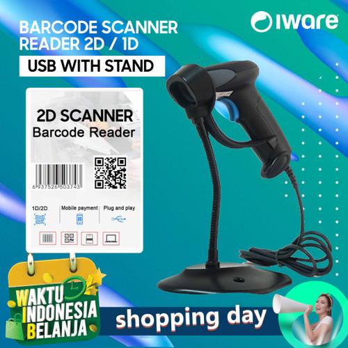 Foto Produk BARCODE SCANNER E-FAKTUR QR CODE 2D/1D IWARE R8S USB dari Barcodia Indonesia