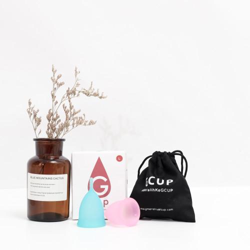 Foto Produk Girls Menstrual Cup - Biru Muda, S dari Gmenstrualcup