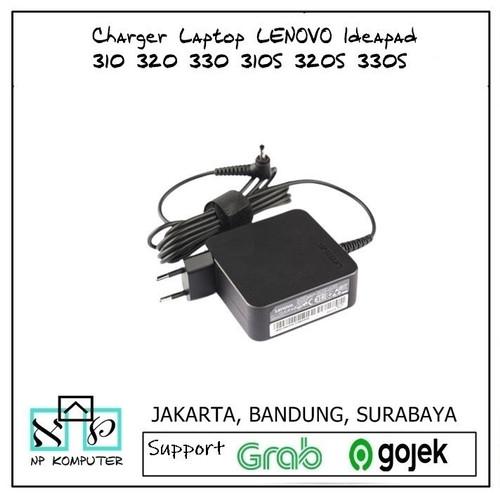 Foto Produk Charger Laptop LENOVO Ideapad 310 320 330 310S 320S 330S 65W - 20V-2.25A (45W) dari np komputer