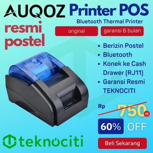Foto Produk AUQOZ 58MM Printer Thermal Bluetooth + USB AQ-58D / PRJ-58D KASIR PPOB dari TEKNOCITI