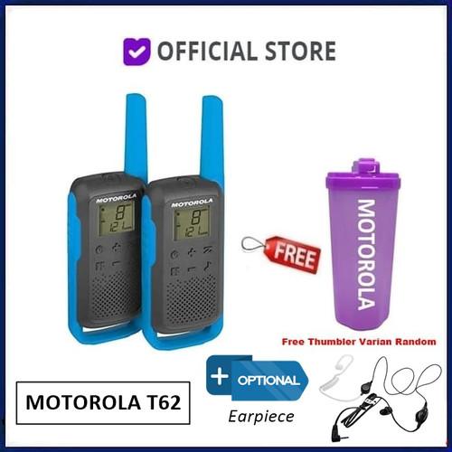 Foto Produk Motorola T62 Walkie Talkie Motorola Talkabout T62 T 62 - T62 Free, Thumbler Only dari DUNIA COMPUTER & SERVICE