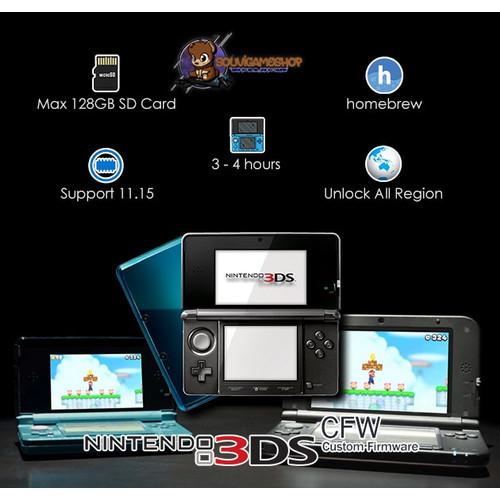 Foto Produk PALING MURAH !! Nintendo 3DS CFW 10.3 + MC 32GB FULLGAME - 70 PERSEN dari souvigameshop
