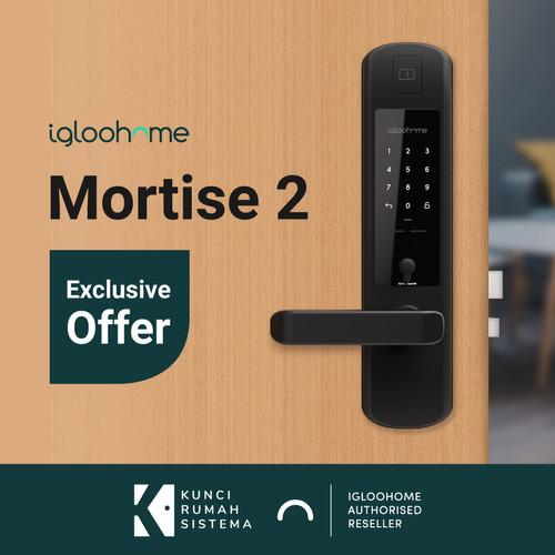 Foto Produk (NEW) Igloohome Smart Mortise 2 Smart Lock Key, Kunci Pintu Otomatis dari Igloohome