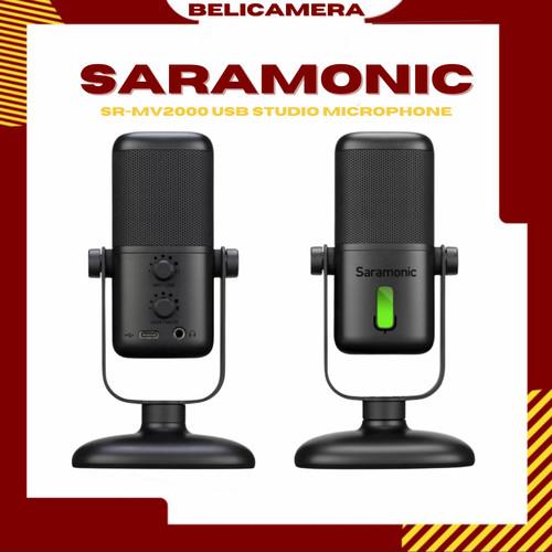 Foto Produk Saramonic SR-MV2000 USB Studio Microphone dari belicamera
