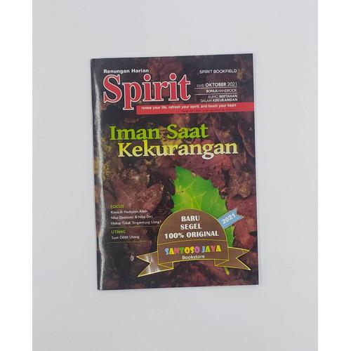 Foto Produk Renungan Harian Spirit Edisi Terbaru Tahun 2021 - OKTOBER dari Santoso Jaya Bookstore