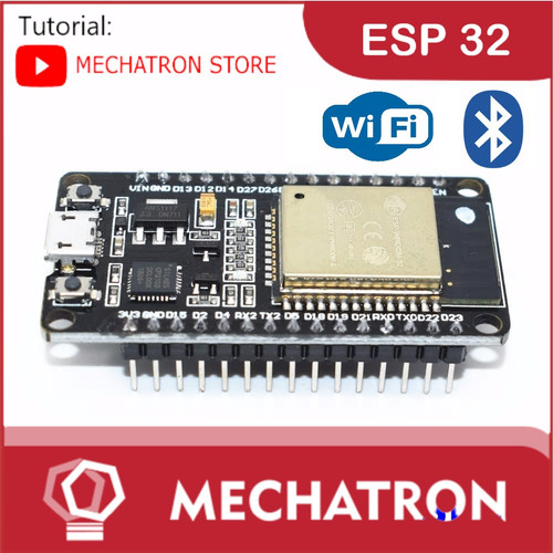 Foto Produk ESP32 ESP-32 IOT Wireless Bluetooth Arduino Internet of Things dari Mechatron