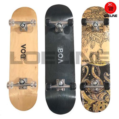 Foto Produk Skateboard Asli Original Canadian Maple Murah Bagus - Polos dari Loeline