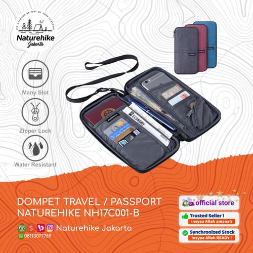 Foto Produk NATUREHIKE DOMPET TRAVEL NH17C001-B PASSPORT PASPOR HOLDER TRAVELING - Biru dari Naturehike Jakarta