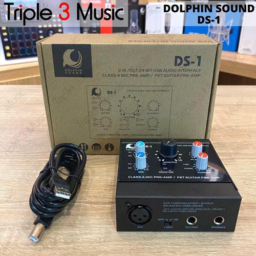 Foto Produk DOLPHIN SOUND ISK DS1 DS-1 Soundcard audio interface recording dari triple3music