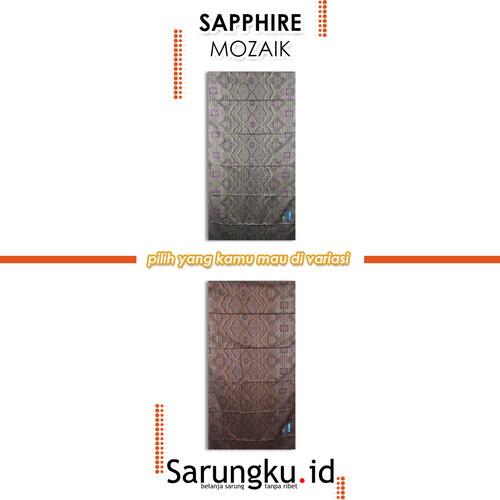 Foto Produk SARUNG SAPPHIRE MOZAIK - cover dari SarungkuID