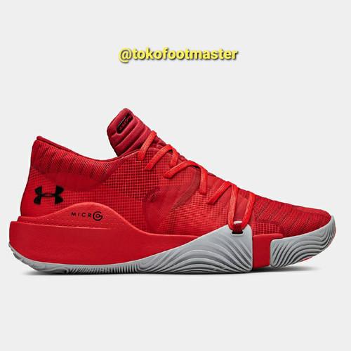 Foto Produk Sepatu Basket Under Armour Original Spawn Low Red 3021263-603 [PROMO] dari Toko Sepatu FootMaster