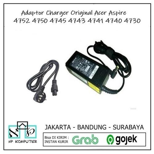 Foto Produk Charger Adaptor Laptop Acer Aspire 4741 4820 3820T 4750 4743 4738 4739 dari np komputer