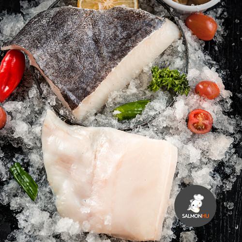 Foto Produk Ikan Halibut / Pipih NORWEGIA Size 200 sd 240gr per POTONG / PORTION dari Salmon Hu Jakarta