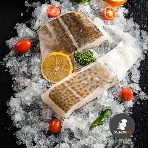 Foto Produk Ikan Kod / Cod Norwegia PREMIUM Size 200 sd 240gr per POTONG / PORTION dari Salmon Hu Jakarta