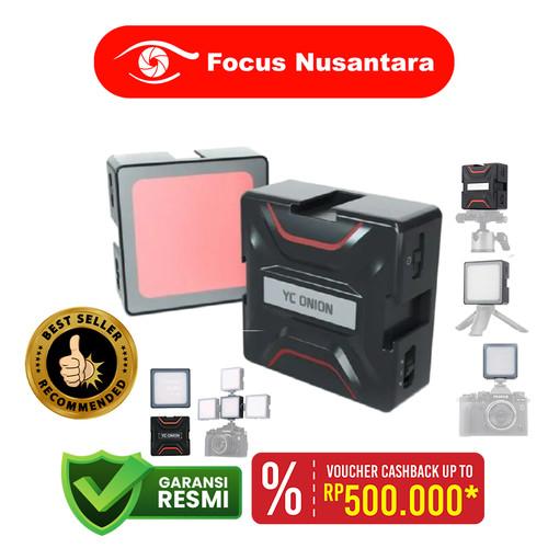 Foto Produk YC Onion Brownie RGB LED Camera Video Light - White dari Focus Nusantara