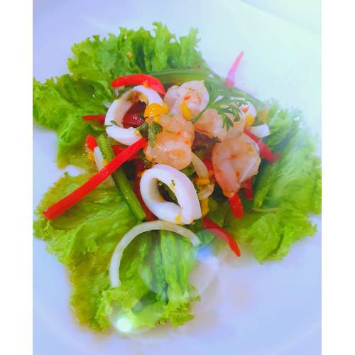 Foto Produk Seafood Salad with Mango Sauce (S) dari Halofudi