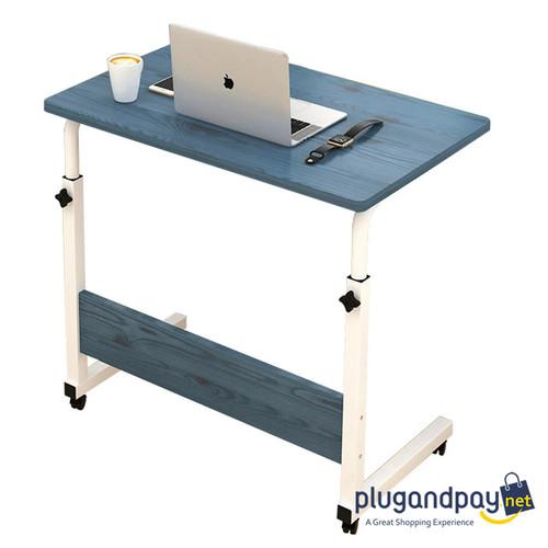 Foto Produk Meja Laptop Adjustable Portable Rotate Laptop Desk Geser Roda dari plugandpay