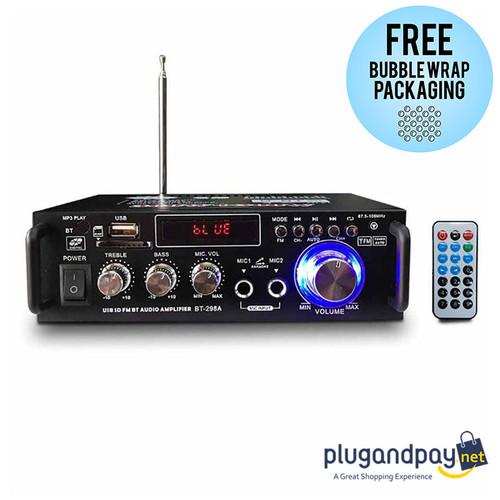 Foto Produk Bluetooth EQ Audio Amplifier Ampli Karaoke Home Theater FM Radio 600W dari plugandpay