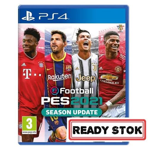 Foto Produk [PS4] PES 21 - PES 2021 - PES21 dari Super-Gameshop