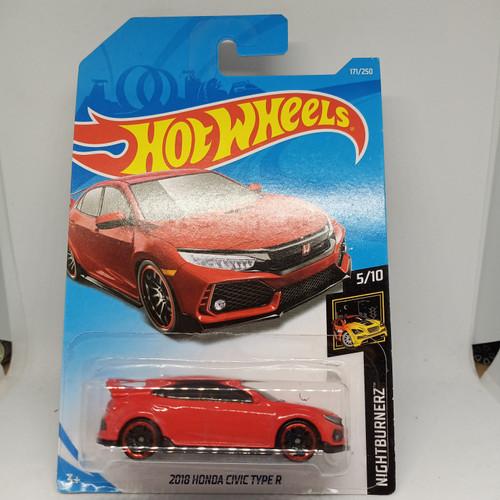Foto Produk Hotwheels 2018 Civic Type R - Merah dari OVER TARGET