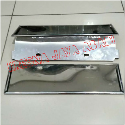 Foto Produk PLAT NOMOR MOBIL BESI dari KRESNA CAR ACCESORIES