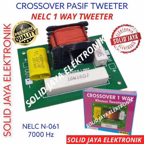 Foto Produk CROSSOVER TWEETER 1 WAY CROSS OVER TWITTER TWITER TWITER HI NELC N061 dari Solid Jaya Elektronik