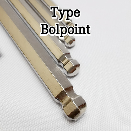 Foto Produk Kunci L Set isi 9pc Hex Key Long - Type Bolpoint dari Brilliant Acsesoris