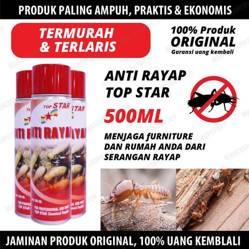 Foto Produk Obat Anti Rayap Spray Pembasmi Serangga semut, kecoa, lalat - Anti Rayap 500 dari Poison One Store