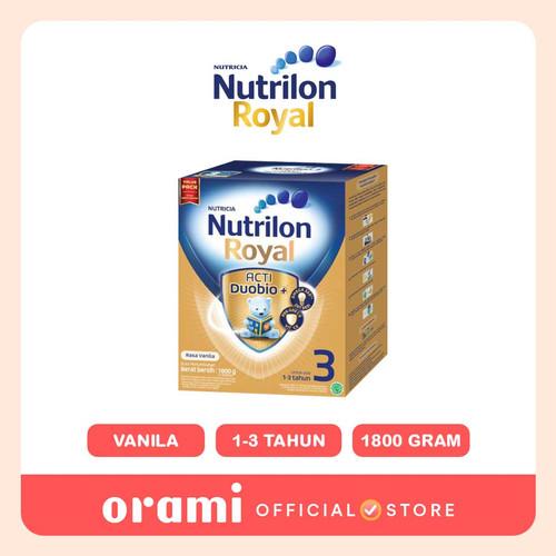Foto Produk ORAMI - Nutrilon Royal 3 Vanila Susu Pertumbuhan Bubuk 1800 GR dari Orami