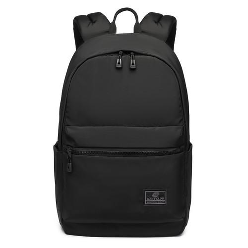 Foto Produk Navy Club Tas Ransel Kasual EBJ - Tas Pria Backpack - Up To 14 Inch - Hitam dari Navy Club Official Store