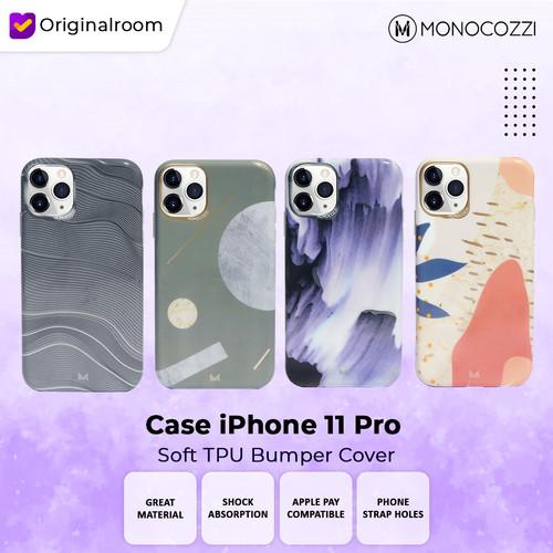 Foto Produk Monocozzi Case iPhone 11 Pro Soft TPU Cover Patternlab - Watery dari Originalroom