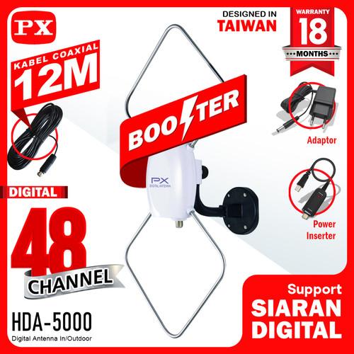 Foto Produk PX Digittal Antenna In/Outdoor HDA-5000 dari PX Official Store