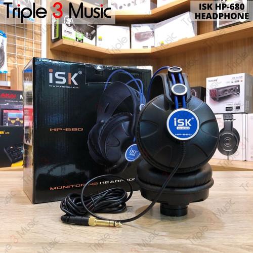 Foto Produk ISK HP-680 HP680 Headphone Monitor FLAT Headphone dari triple3music