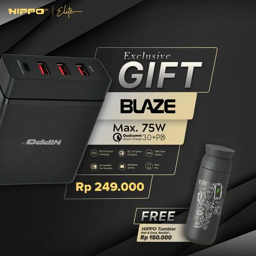 Foto Produk Hippo Elite Blaze Adapter Charger 75 W (Simple Pack) Garansi dari Hippo Elite