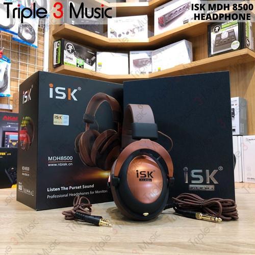 Foto Produk ISK MDH 8500 MDH8500 Headphone Monitor FLAT Headphone dari triple3music