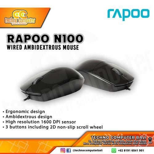 Foto Produk MOUSE RAPOO N100 dari Techno Computer Bali