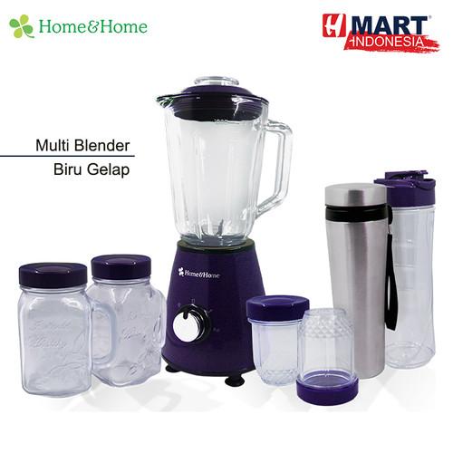 Foto Produk Home&Home Multi Blender On The Go Biru Gelap dari H Mart Official Shop