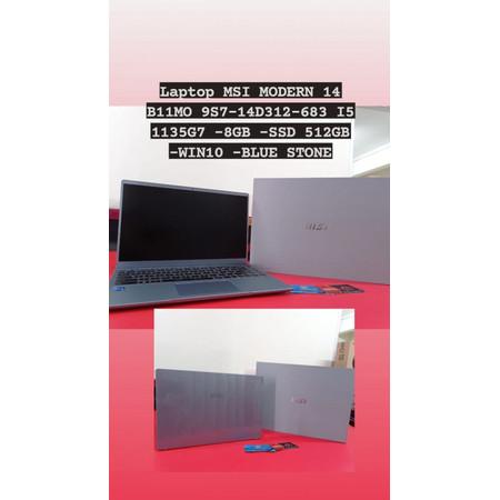 Foto Produk MSI MODERN 14 B11MO 9S7-14D312-683 I5 1135G7 -8GB -SSD 512GB -WIN10 dari ArinGoComputer