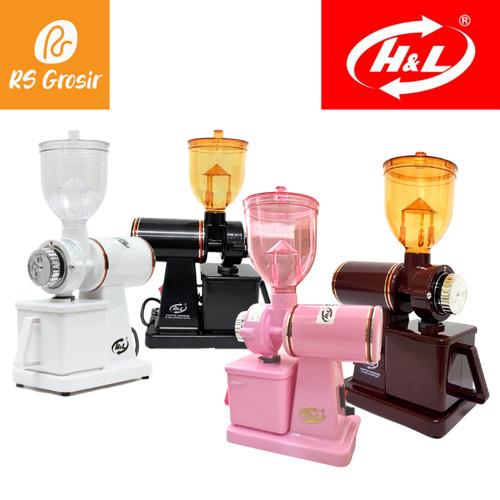 Foto Produk Electric Coffee Grinder HL 600N Mesin Giling Kopi Grinder Kopi - Cherry Blossom dari RS Grosir ID