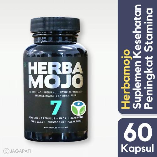 Foto Produk Herbamojo - Suplemen Kesehatan Pria - Peningkat Stamina Alami Herbal dari Jagapati