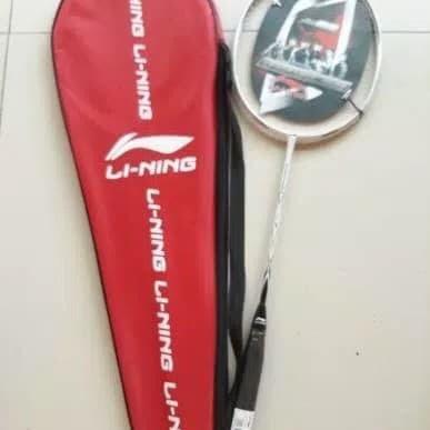 Foto Produk Raket Badminton Lining+ tas+ bonus pasang senar Bg 66 dari Hebohstore