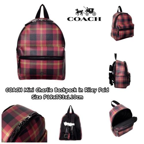 Foto Produk COACH Mini Charlie Backpack dari DOLPHINHELPER