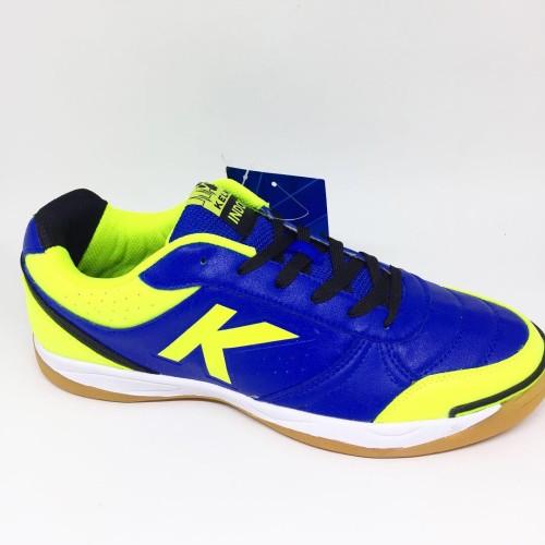 Foto Produk Sepatu futsal kelme original K Strong Blue stabilo new 2018 dari Kicosport