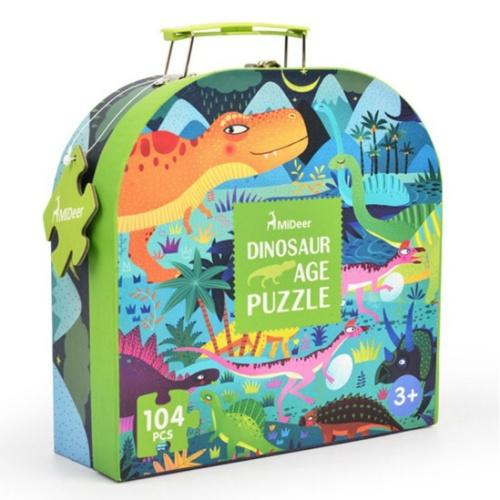 Foto Produk Mideer mainan edukasi puzzle anak dinosaur dari Mybentoshop